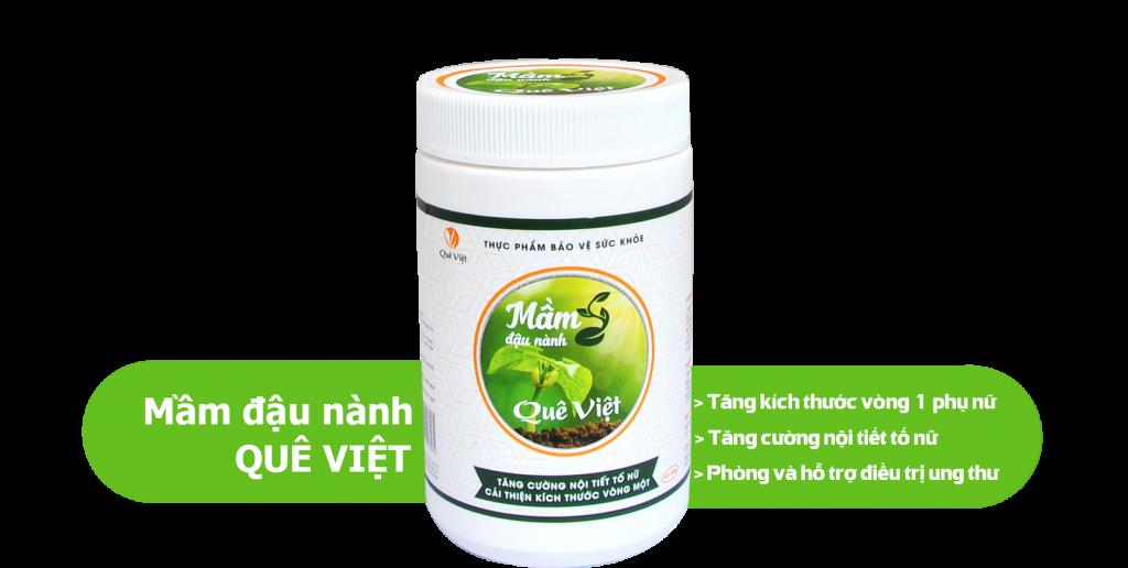 Mầm đậu nành Quê Việt – 100% từ thiên nhiên